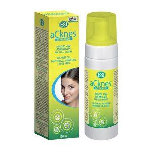 Acknes spumă pentru spălarea feței