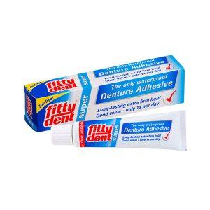 Adeziv pentru proteze dentare Fittydent Super