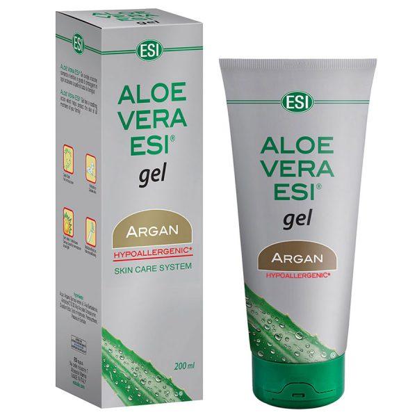Aloe Vera Gel cu Ulei de Argan – 200 ml