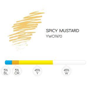 Pigment 7470 Spicy Mustard