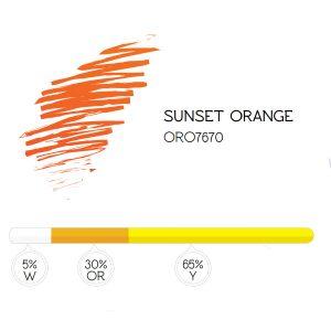 Pigment 7670 Sunset Orange
